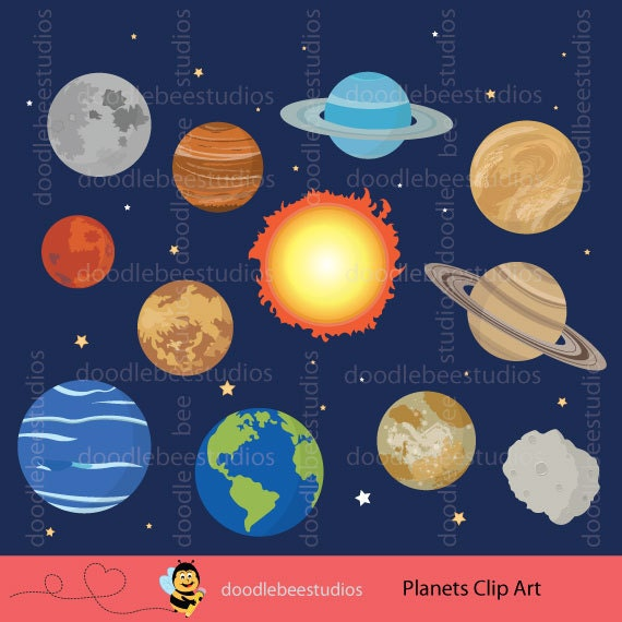Planets Clipart - Cliparts Galleries