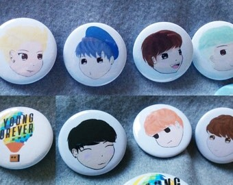 BTS Buttons