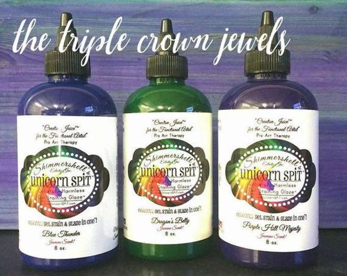 Unicorn SPiT 8 oz Gel Stain The Triple Crown Jewels Collection