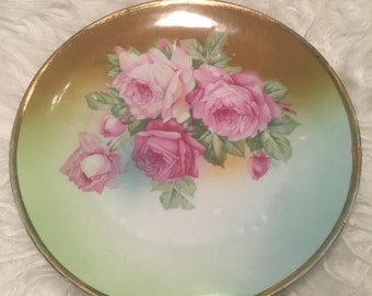 Floral Hanging Plate