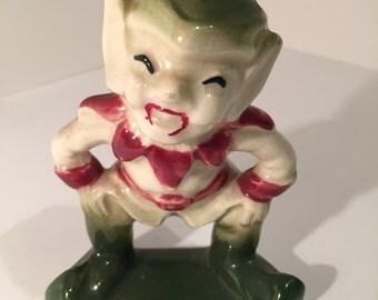 Vintage Laughing Elf