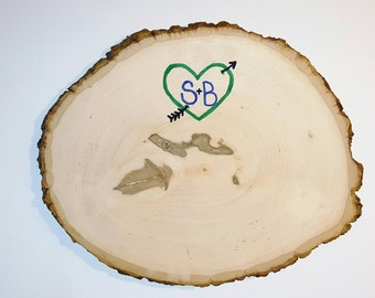 Wooden Guest 'Log'