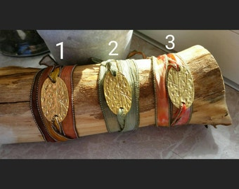 Golden rain - Wrap around bracelets