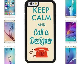 Keep Calm Call Designer Cover Case for Samsung Galaxy S7 Edge S6 Plus Apple iPhone 7 7 Plus 6 6S Plus Note 5 6 7 8 9 10 att sprint verizon 5