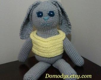 Crochet Amigurumi Bunny Rabbit, Easter Bunny Rabbit, Crochet Bunny Rabbit, Kids Toy