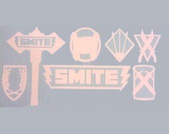 SMITE Logo and Classes
