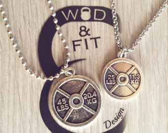 Workout Necklace Etsy