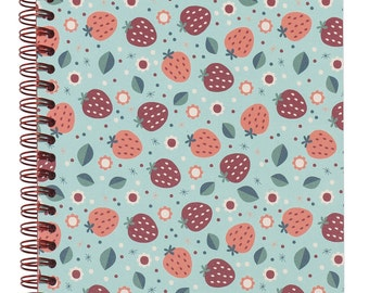 NOTEBOOK A5 STRAWBERRY TIFFANY