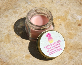 Pink Panther -All natural Lip Balm with Grapefruit & Orange