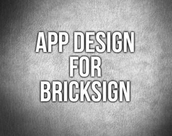 Bricksign App Design