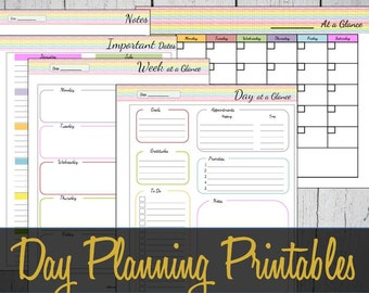 day at a glance calendar template - daily schedule printable full sheet day at a glance daily