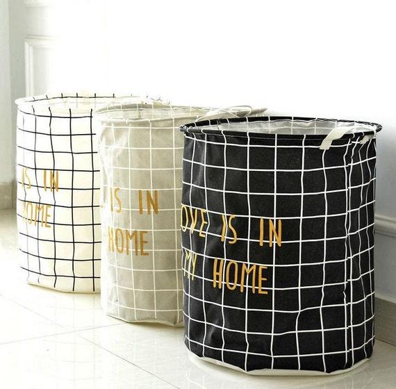 inthispace nursery laundry hamper storage bin