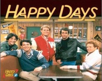 "2"" x 3"" Magnet Vintage Happy Days TV Show MAGNET"
