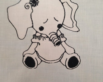 "Baby Animals Machine Embroidery PES 5"" x 7"" Hoop"