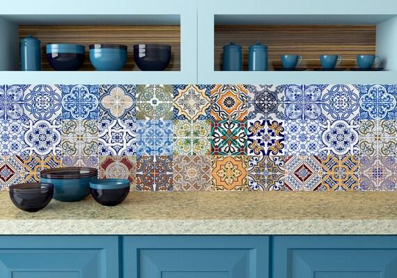 Azulejo Para Baño Talavera:Conjunto de 12 * 2 (24 pc) azulejo Talavera mexicana estilo Peto