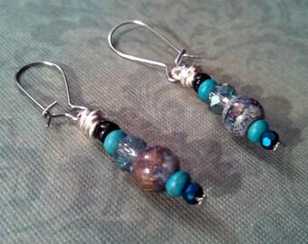 Blue Ivy earrings
