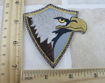 Embroidered Eagle Patch Iron/Sew On
