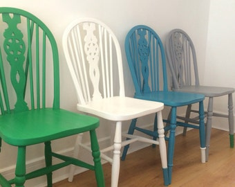 Dining chairs set of 4