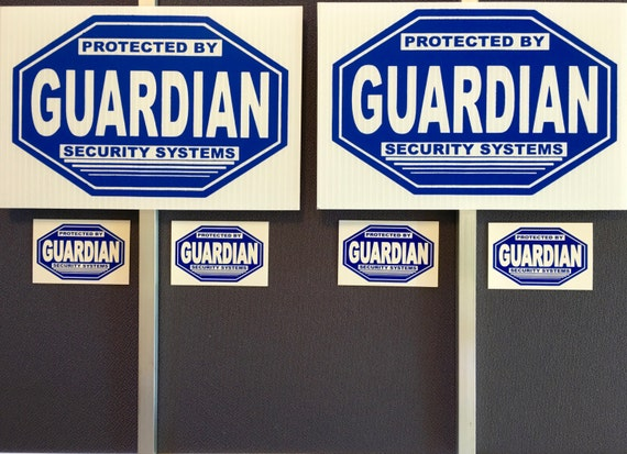 2 Guardian Security Signs 2 Decals 2 Stakes Ps412. Urgent Signs. Subset Signs Of Stroke. Pneumococcal Pneumonia Signs. Spotty Signs. Object In Mirror Are Losing Decals. Egual Signs. Literature Murals. Garage Stickers