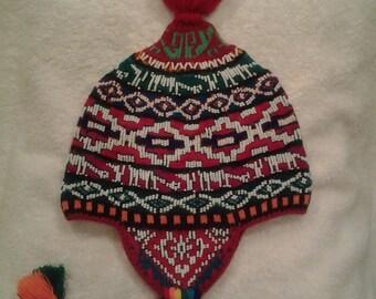 Authentic Peruvian chullo hat