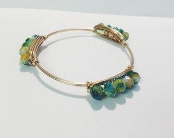 Spring Flowers Bangle
