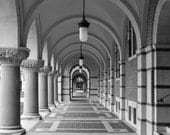 Rice University, Rice Owls, black and white Houston photography, Texas photography, arches, architecture photo, Texas wall art