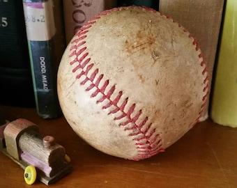 Vintage Baseball for Decor Use/Shelf Decor/Childs Room Decor/Baseball for Display/Vintage Nursery Decor/Bookshelf Decor