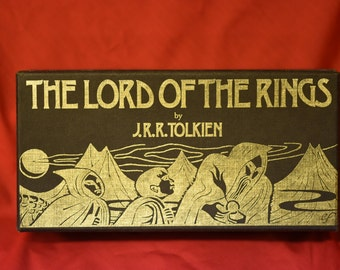JRR Tolkein. The Lord of The Rings. On Cassette. 1981