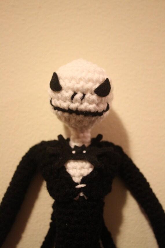 Amigurumi Kangaroo Crochet Pattern : Amigurumi Crochet Jack Skellington