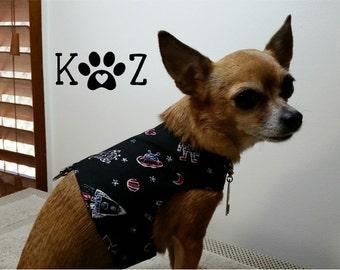Rocketman Dog Harness Walking Vest XSmall