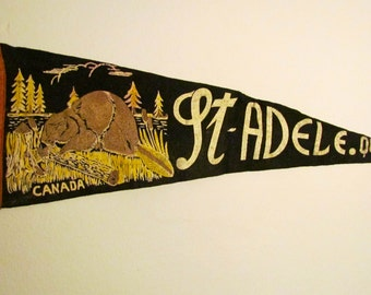 St. Adele Quebec Pennant Flag