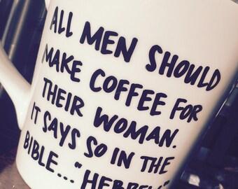custom mug custom coffee mug custom tea cup religious humor design your