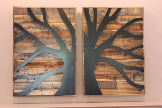 Pallet Wood Tree Of Life Pallet Wood Wall Art Wood