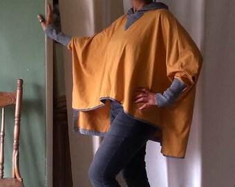 Organic Cotton Hoodie, Yellow, Women