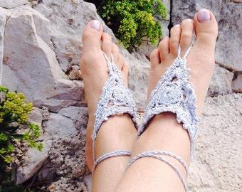 Hvar Crochet Barefoot Sandals