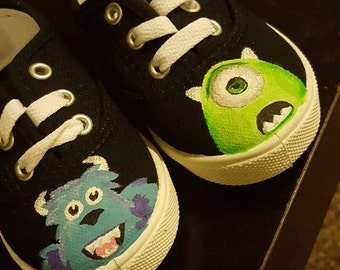 Custom painted Childrens Shoes