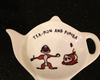 Disney Lion King Style Tea Bag Tidy