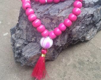 54 Bead Mala Wrap Bracelet