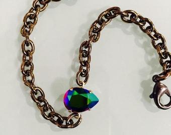 Bohemian Swarovski Crystal Bracelet