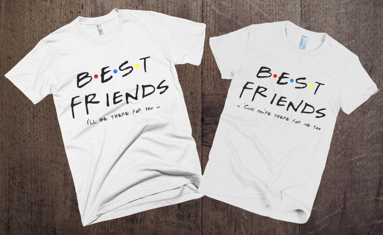 couple t shirts set best friends set of 2 couple. Black Bedroom Furniture Sets. Home Design Ideas
