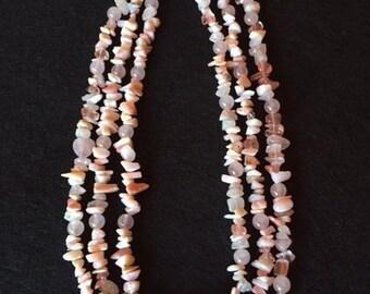 Lovely Rose Quartz Necklace