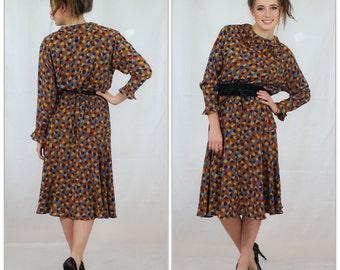 Vintage GUY LARCHOCHE dress