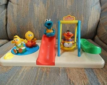 Sesame Street Playground Play Set
