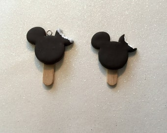 Mickey Ice Cream Bar Brooch or Necklace