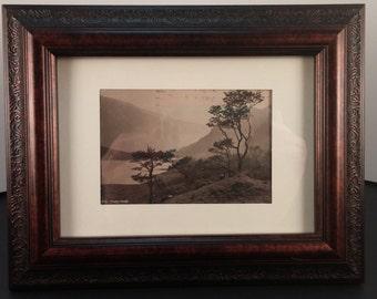 Vintage Framed Postcard of Thirlmere Item 010920163