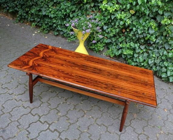 mid century sideboard slant legs Erwin Behr 50s elm walnut