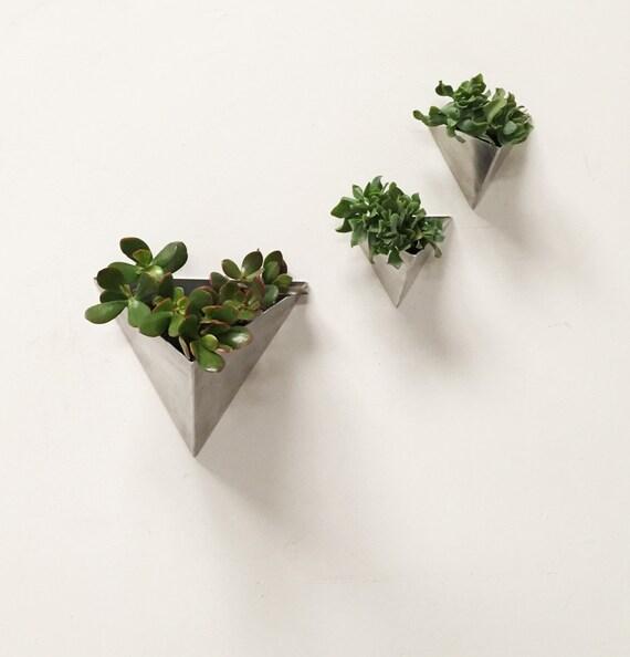 Modern Wall Planters: Tessellation // Large // Modern Wall Planter By MethodMfg