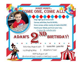 Come One - Come All Circus/Carnival Theme