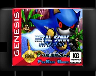 """SPECIAL ORDER! """"Metal Sonic Hyperdrive"""" Amazing Sega Genesis Sonic The Hedgehog Hack!"""