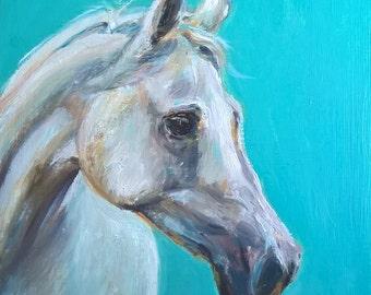 Horse Original oil painting
